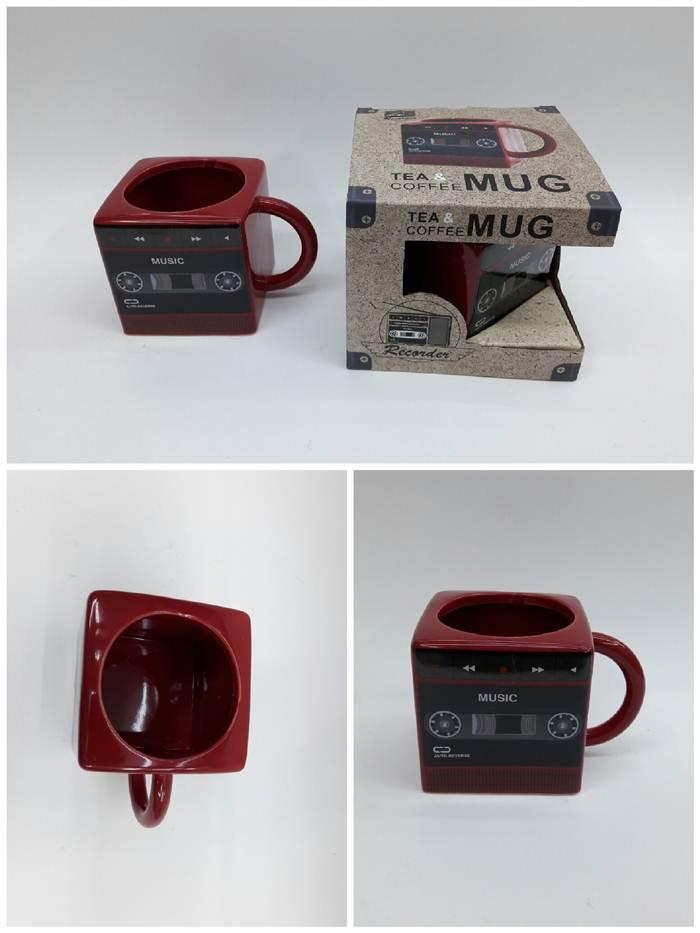 kırmızı kaset kupa modeli