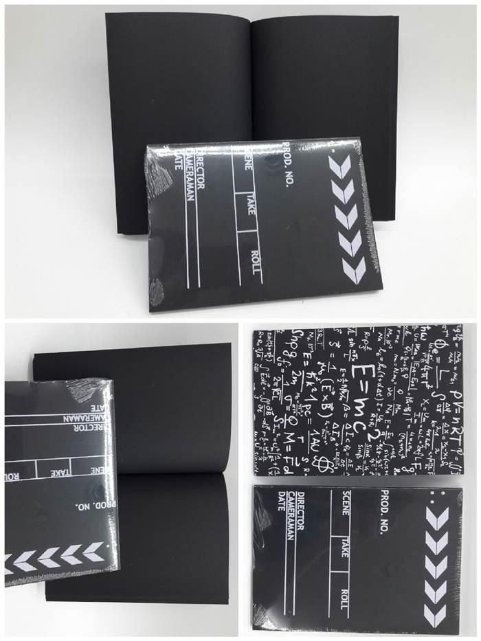 siyah not defteri